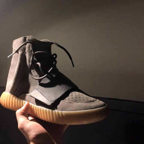 f291d82eec04d Yeezy 750 gum   size us 9   8.5 10 condition   selling for - Depop