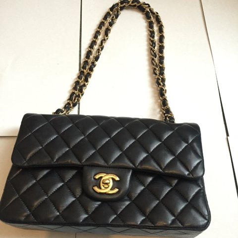 cdc163a99ee17d @parmar02. 3 years ago. London, UK. Classic Chanel small flap bag. Beautiful  ...