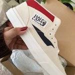ac50548854e6 Vans cherry black and white..worn only a handful of times. - Depop
