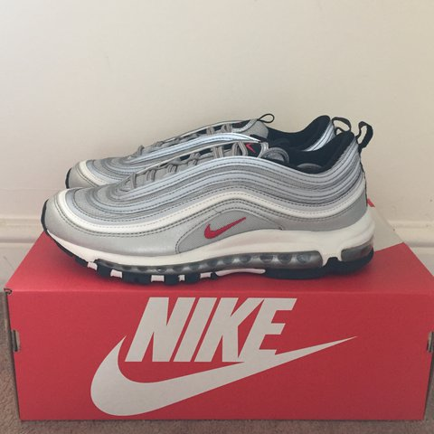 0de59cb940 @limitedsneakerdepop. 2 years ago. London, UK. Nike air max 97 silver bullet  OG size Uk 7 2017 release ...