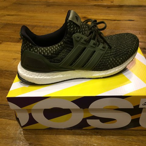 55a6e9a87f9 Adidas ultra boost military pack trace cargo. New with tags - Depop