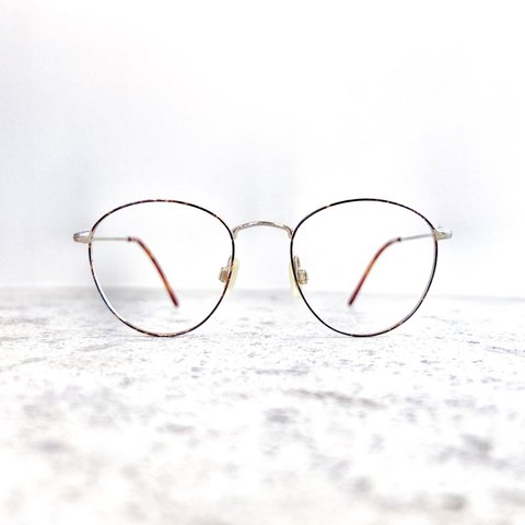 3b60ded883 Round wire 1960 s glasses frames. Made from an antique with - Depop