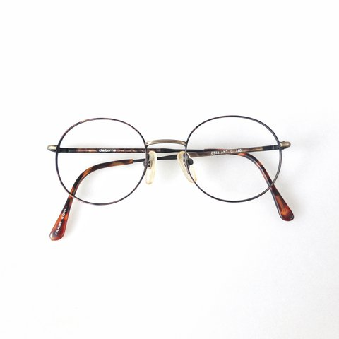 91e82c7a44 Round wire 1990 s glasses frames. Made from an antique with - Depop