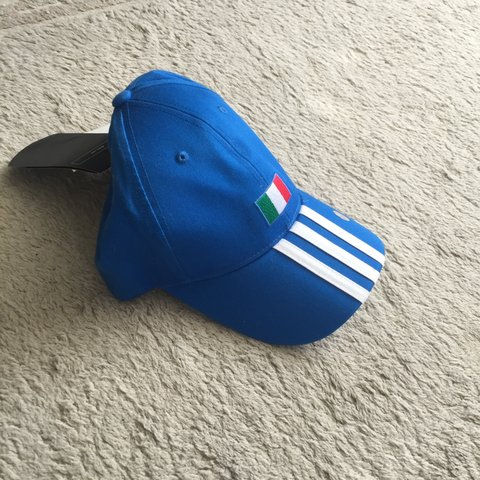 f7728ab6 Adidas Italy Baseball Cap - Brand new with tags. Adjustable - Depop