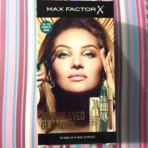 90f230fa9a5 Max factor gift set. FULL size products. Box is sealed and a - Depop