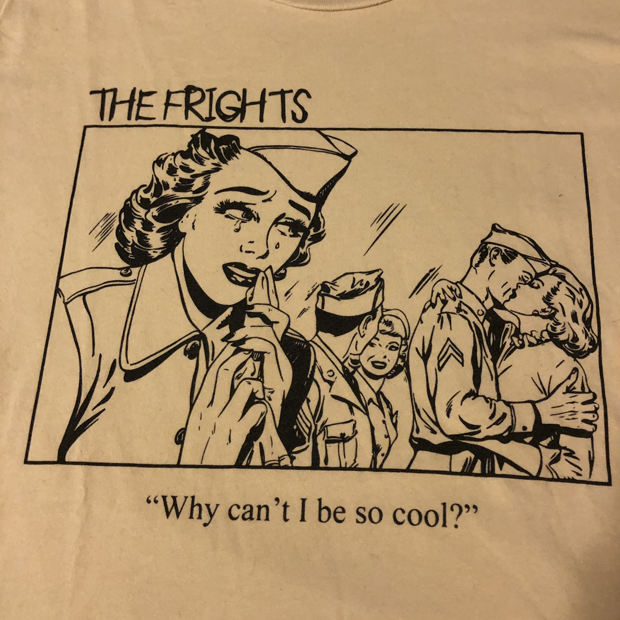 The Frights T Shirt Why Can T I Be So Cool Wore Depop