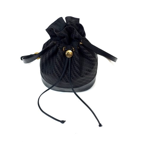 7552fc6278f Very rare original 90s vintage Gucci bucket bag. Monogram   - Depop