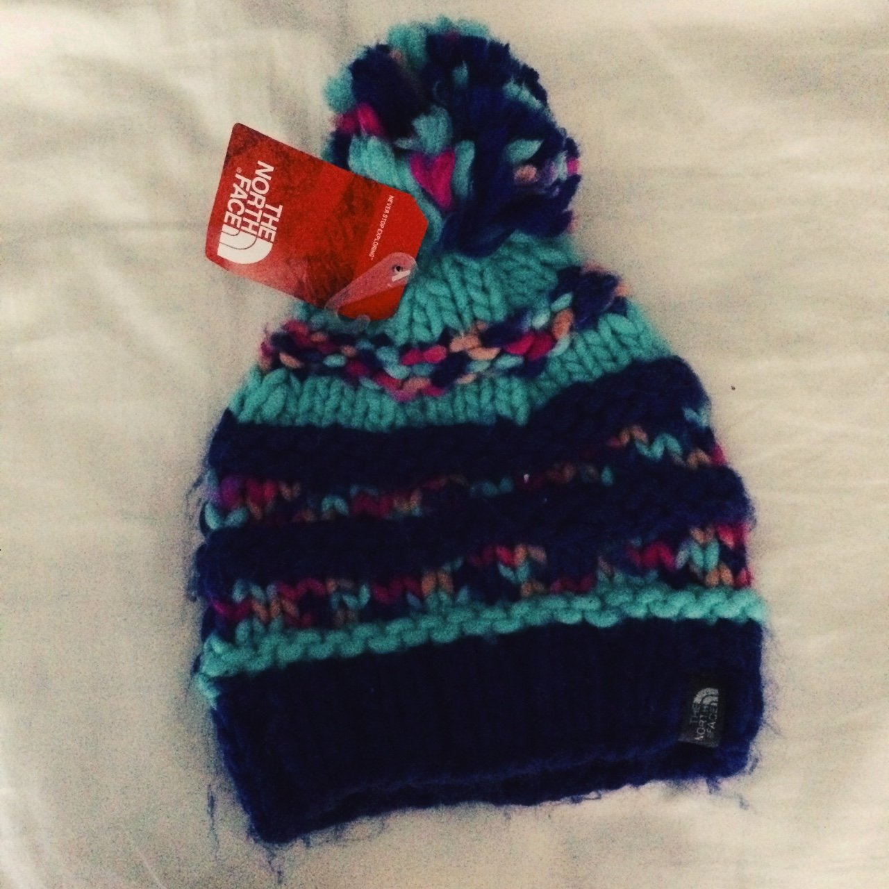 0d00b4884a7 Adorable North Face beanie! Brand new