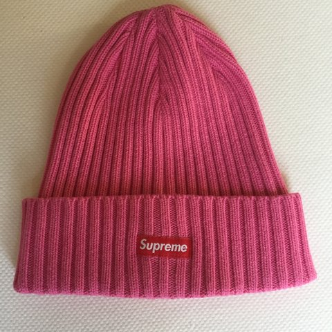 091ab432333702 ... coupon code supreme ribbed beanie pink brand new deadstock free  shipping depop 44de4 4a0d6