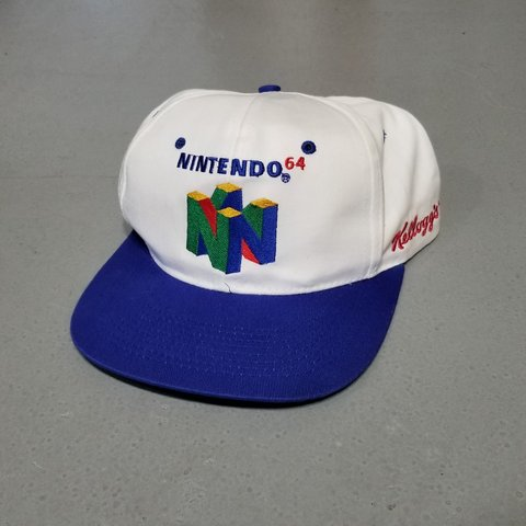 f32c05a5 Vintage N64 snapback hat! Great condition in OSFA, now with - Depop