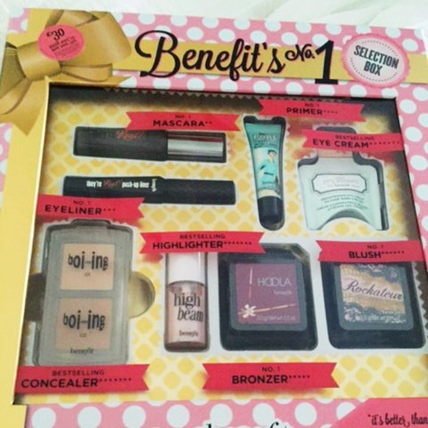 303c8faf1b3 BENEFIT Selection Box - contains all the favourites from - , - Depop