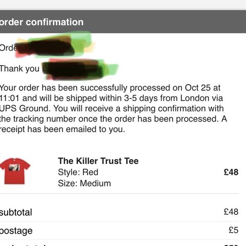 f7d154a8 @yeuolcollier. 9 months ago. London, United Kingdom. Supreme the killer tee  medium red ...