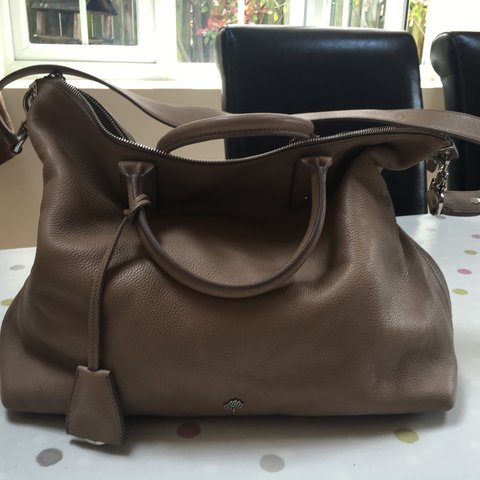 2a85bbd4b913 ... cheapest large mulberry alice bag in mushroom grey taupe i bought depop  cd0a8 7a224 ...