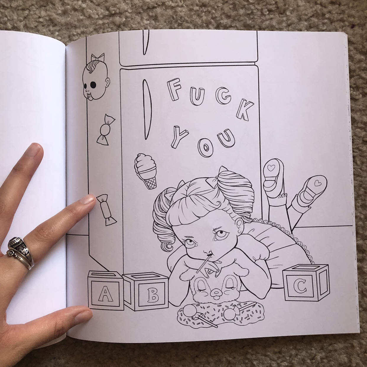 - Melanie Martinez Crybaby Coloring Book. I Got This... - Depop