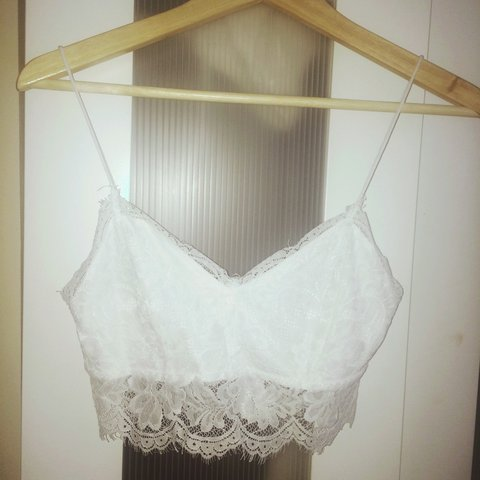 4949e406dd Topshop white lace bralet - only worn once