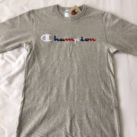 ef9a199343d5d4 NEW with tags champion t-shirt bought from foot locker in as - Depop