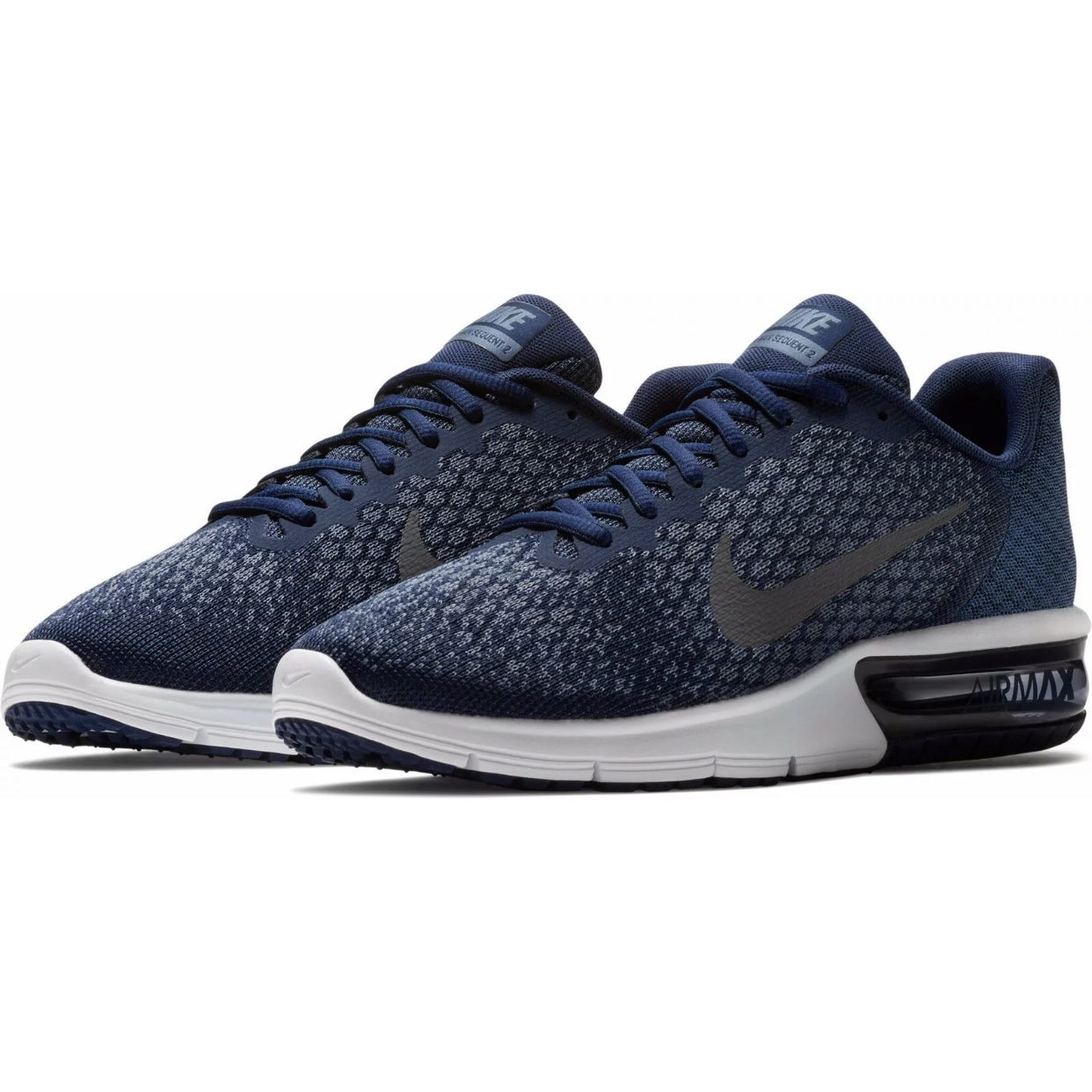 nike air max sequent 2 navy