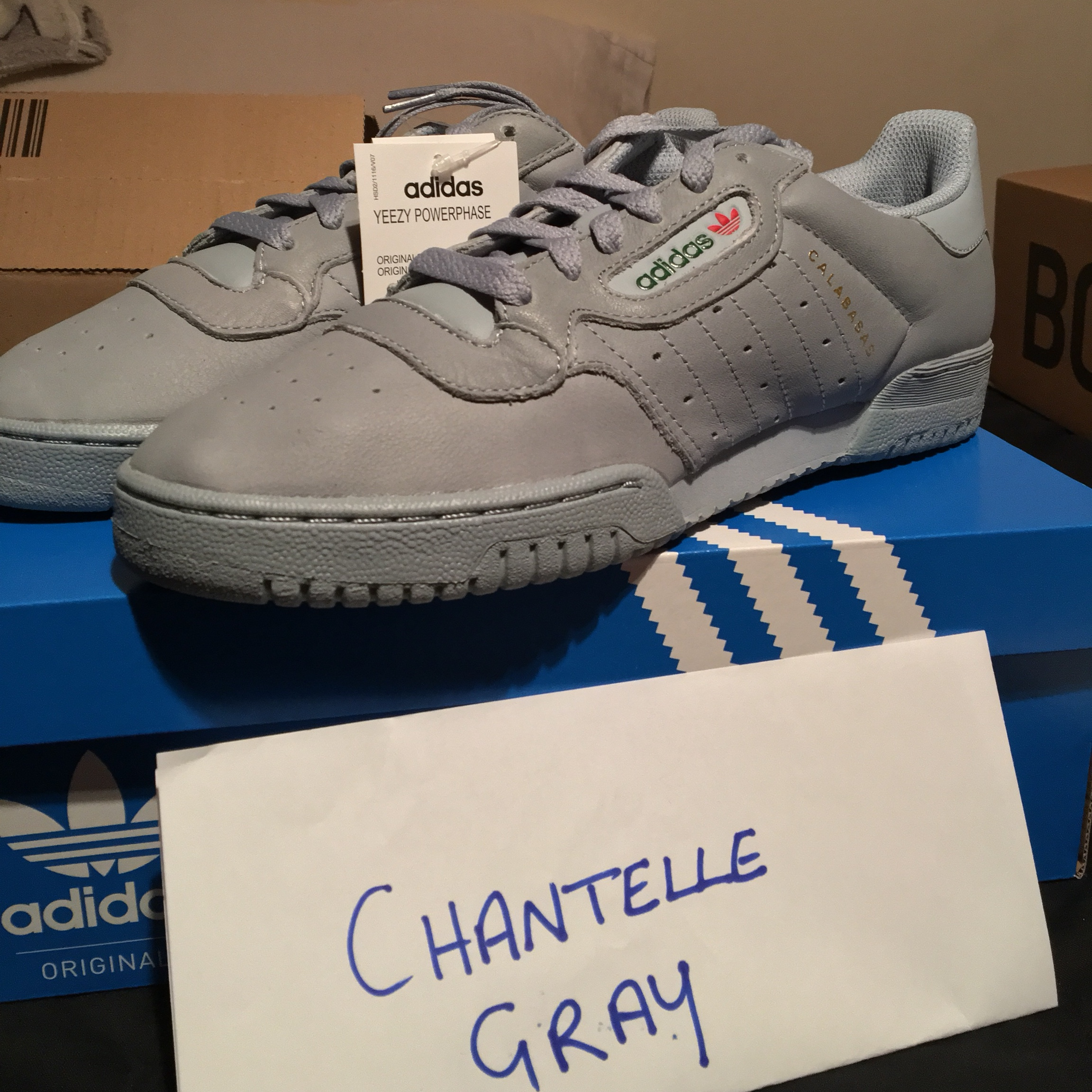 653543d16869e SOLD Yeezy Powerphase • Size 8 UK • DSWT • Ready to ship • - Depop