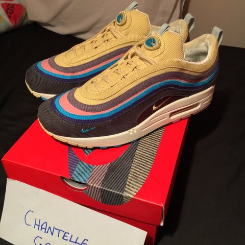 b6761d92dc0 Sean wotherspoon x Nike air max 1 97 Size 8.5 UK Worn a got - Depop