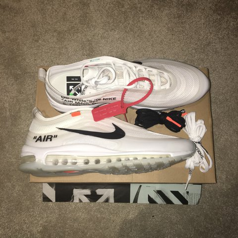 7ab96e30c5dcd NikeLAB OFF-White AirMax 97 s - Offspring Competition were - - Depop