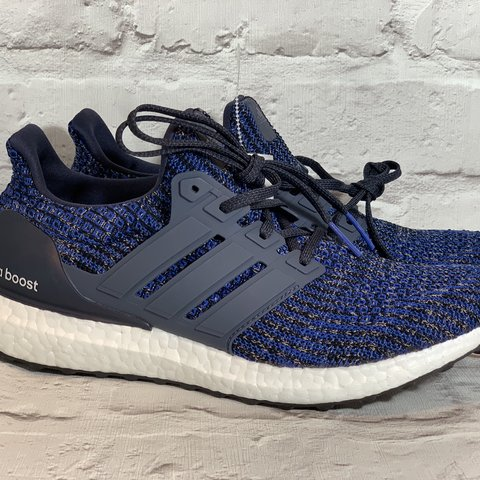 new product b1144 44fb8 Adidas Ultra Boost navy blue white- 0