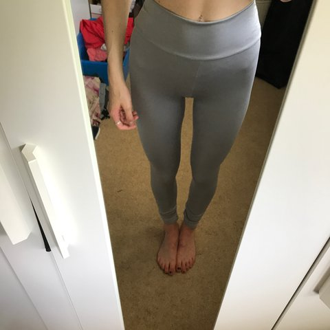 e4ea9338df4be9 @beckyhays. 2 years ago. London, UK. Grey high waisted gym leggings, size  small, good condition, never worn ...