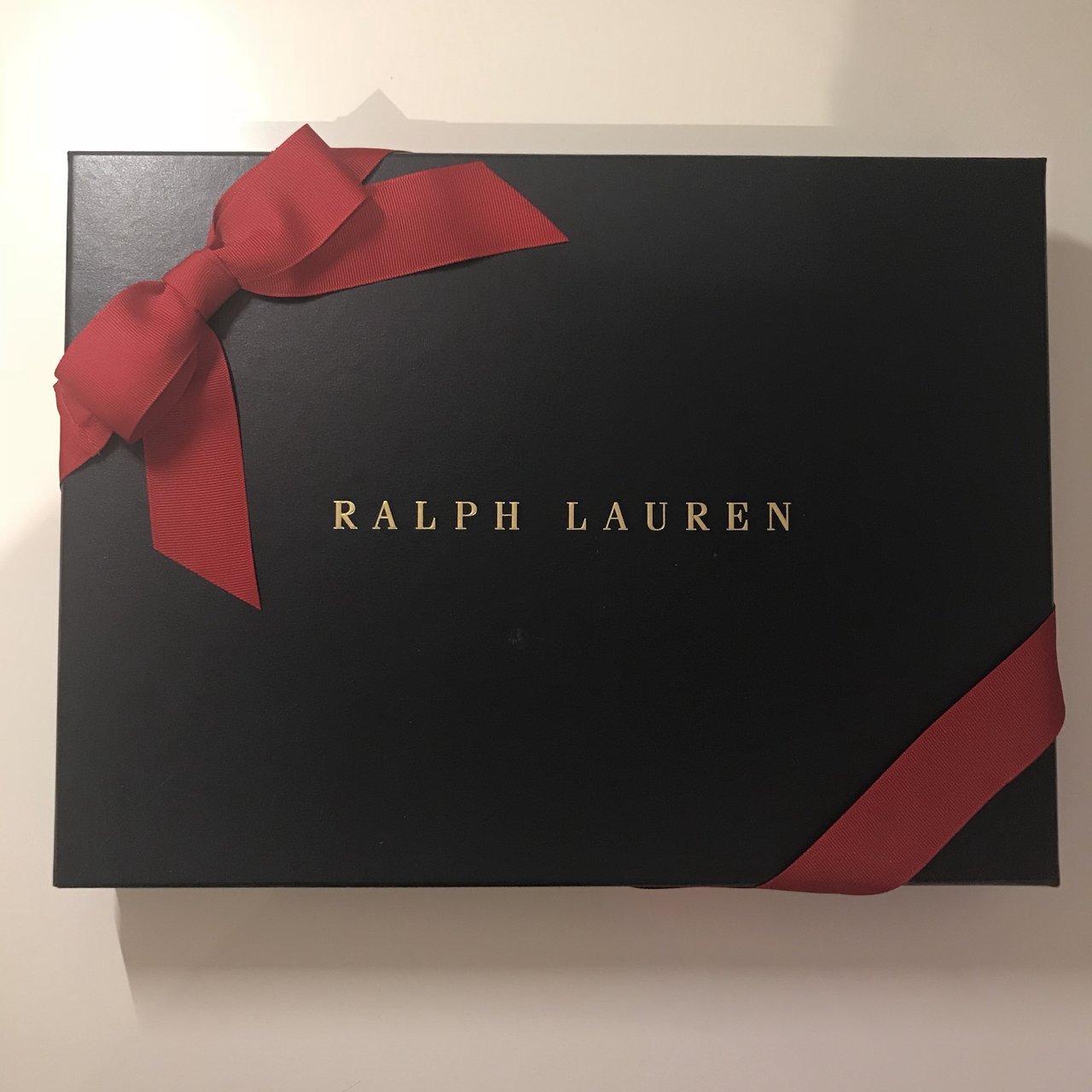 @lstoney. 2 months ago. Kingston upon Thames United Kingdom. Genuine Ralph Lauren Gift Box & Genuine Ralph Lauren Gift Box Comes with bow and gift abit - Depop