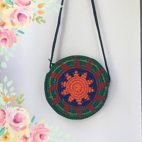 Free Pp Crochet Hacky Sack Inspired Coin Purse A Depop