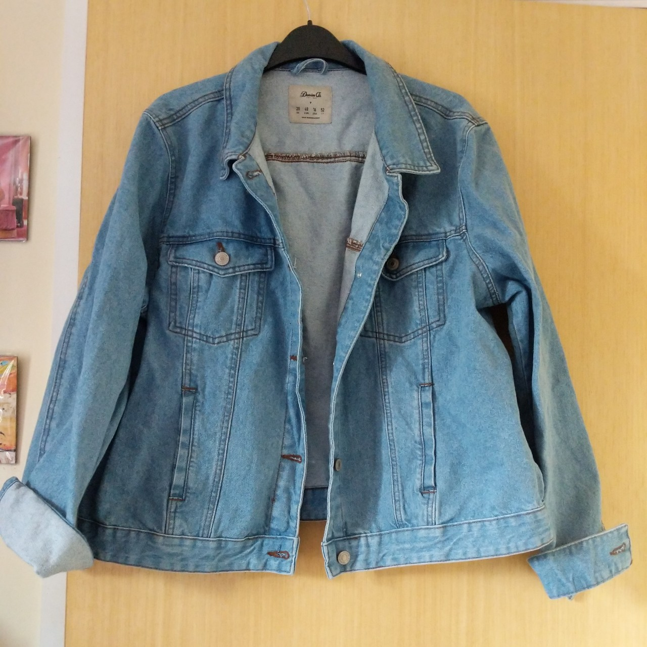 35b726b7d84 Primark Denim Jacket Sz 20 •only worn a couple of times to - Depop