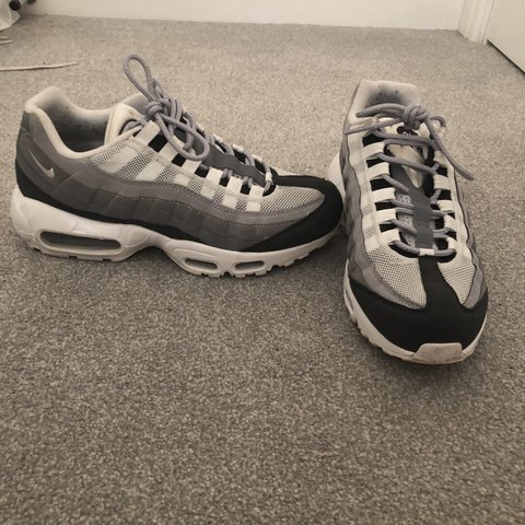 best cheap 24f38 0e0a0 ... france selling nike air max 95 in a size 5 these were custom made depop  8f224