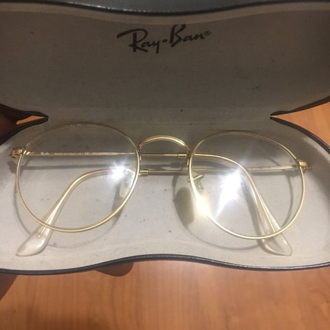 93379d5dc @fatheremanuel. 2 years ago. New York, NY, USA. Used Rayban Round Metal  Glasses