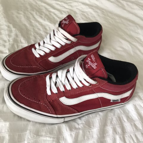 343573bca6901d VANS Pro Trujillo SG sneakers Red and white
