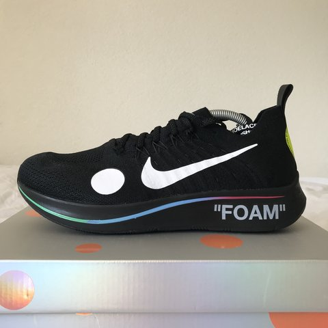 2fc9f2cec938f Nike x Off White Zoom Fly Mercurial EU 45 The Netherlands - Depop