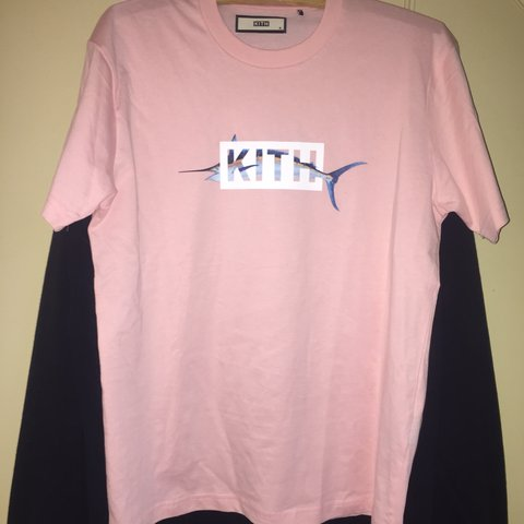63495764e448 🐠🌸 KITH PINK MARLIN T SHIRT 🌸🐠 peng deadstock Kith with - Depop