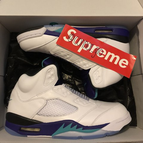 51ed32a6937e9c Air Jordan V Fresh Prince • Grape Colourway • Fresh Prince • - Depop