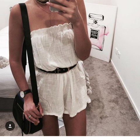 a612f2cb4a Toby heart ginger strapless playsuit