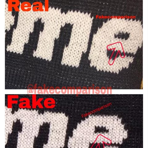 How To Tell If Supreme Beanie Is Fake f36743b08bc