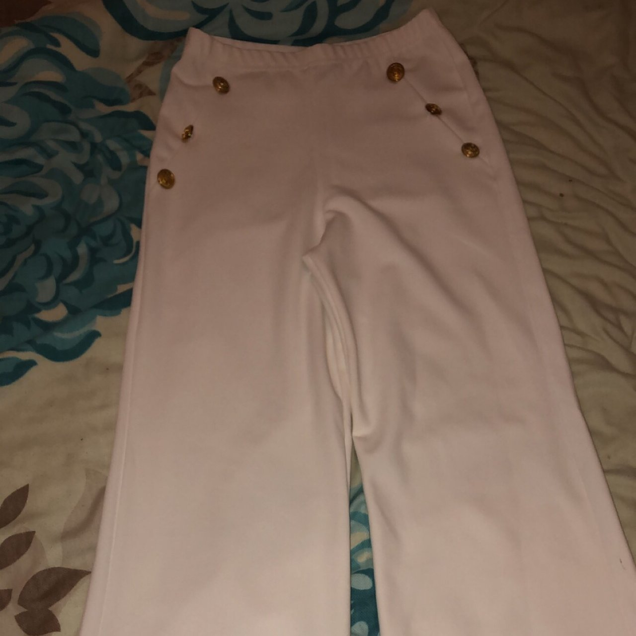 75042812a8e84d @goding526. 3 months ago. Doncaster, United Kingdom. Pretty little thing  petite white military trousers size ...