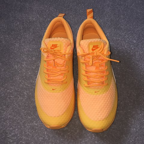 a80c9fa0ee Nike Air Max Thea Bright 🍊 Orange and bold! Worn once, but - Depop