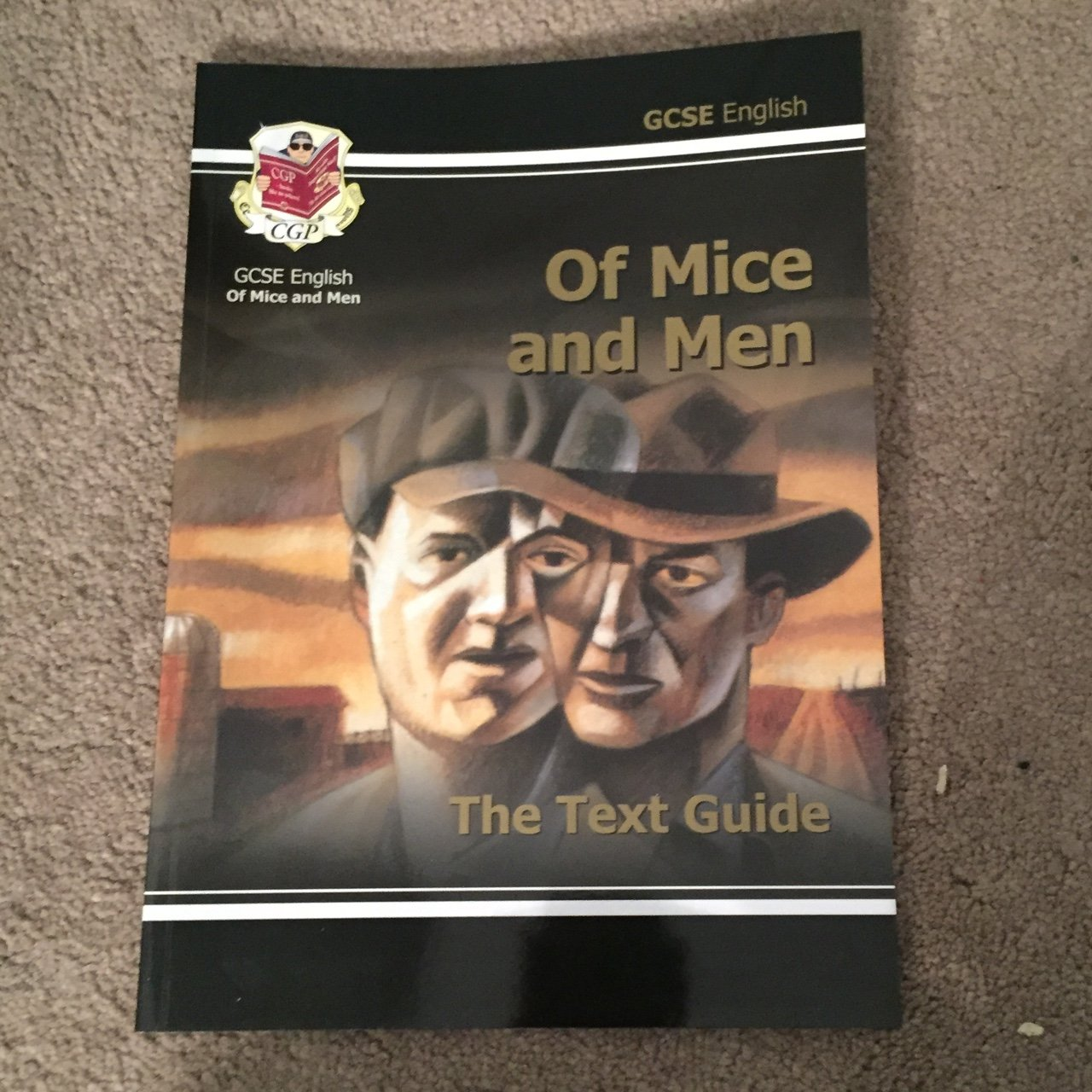 52946007e962 ... Array - of mice and men revision guide from cgp which includes all depop  rh depop