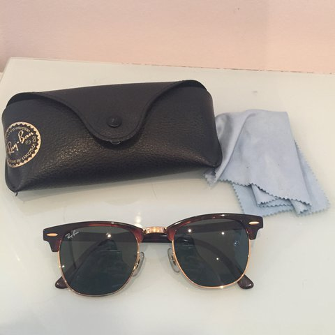 db05639ae Genuine RRP £170 polarised 'Clubmaster classic' ray ban In - Depop