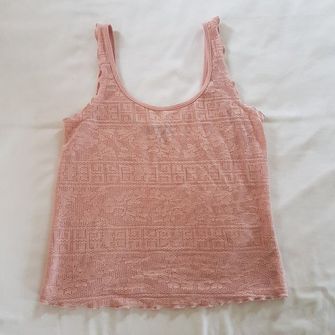 3c713714038e2 Pink lace top from Topshop