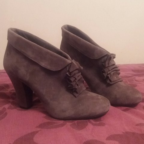 05d4d9a8c Real suede grey shoe boots from John Lewis
