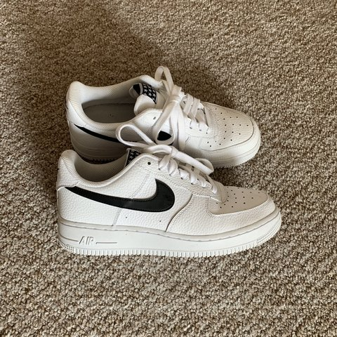 on sale c1dd2 9b66e  rachel2610. 2 months ago. Glasgow, United Kingdom. Nike Air Force 1 black  stars ...