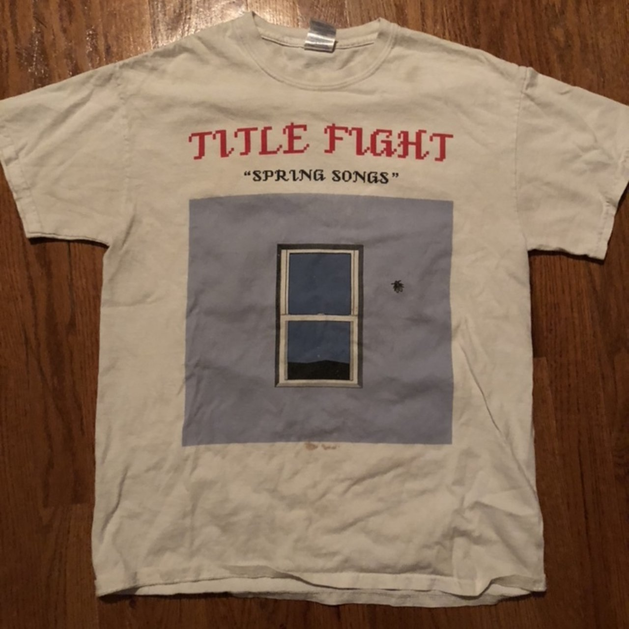 title fight spring songs shirt