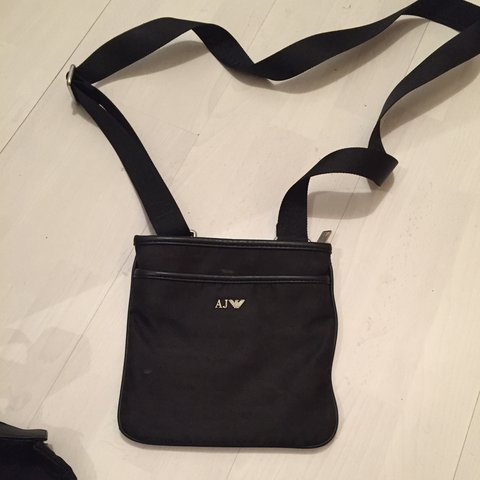 Genuine Armani jeans man bag - Depop ef839612d3009