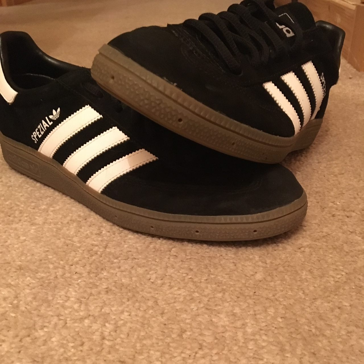 innovative design the best attitude famous brand Black adidas spezial size 8. Will consider offers... - Depop