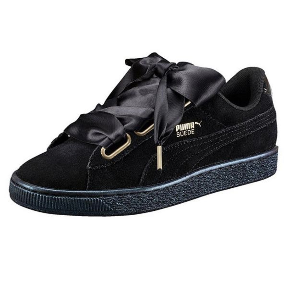 Puma EditionSize Sweetheart Depop Suede 4Super Black 5jqRL4A3