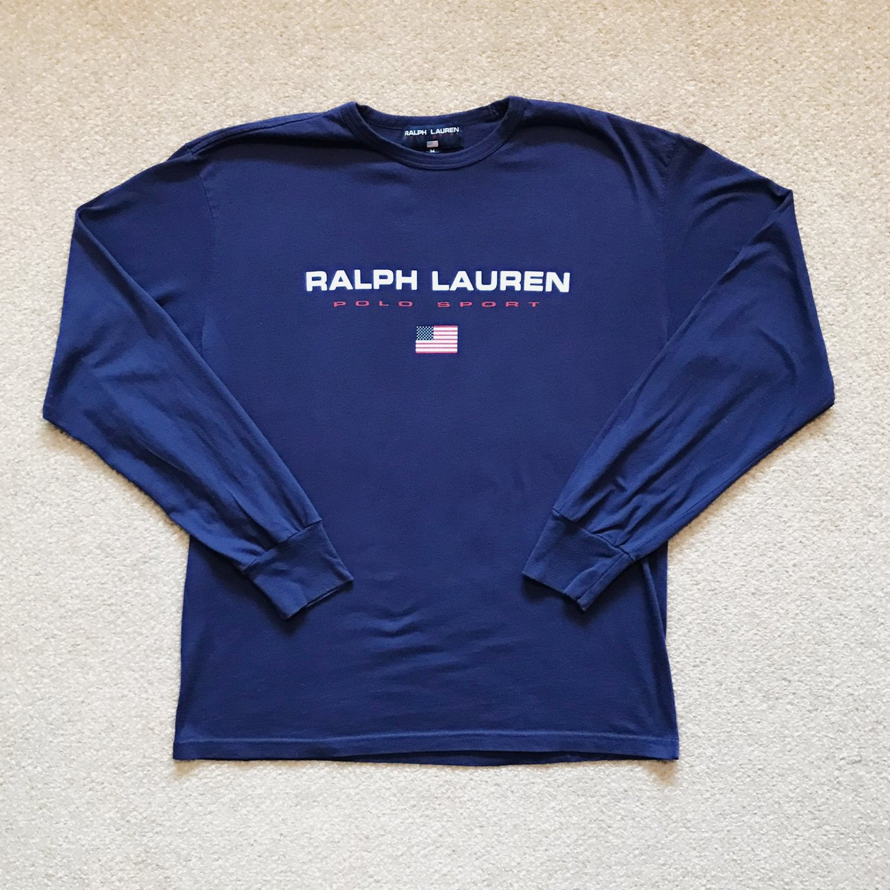 12da9149 @norwoodclothing. last year. United Kingdom. Men's small Polo Sport Ralph  Lauren top   crew neck long sleeve t-shirt tee   spell out ...