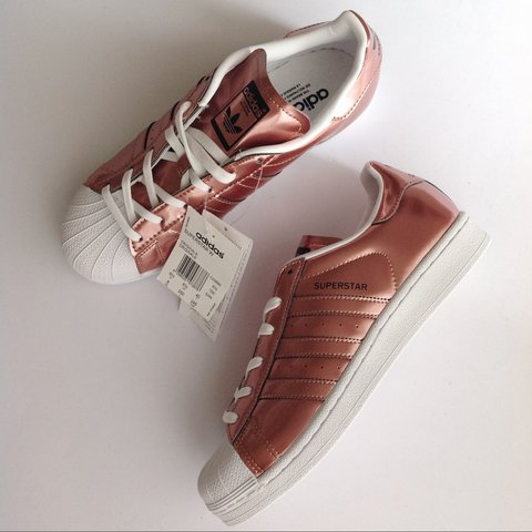 Superstar Gold Rose Gold Adidas Superstar Metallic Rose Adidas Metallic dQsrCthx